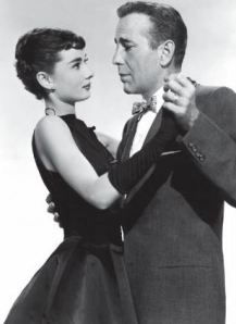 Audrey Hepburn et Humphrey Bogart / © Chêne E/P/A